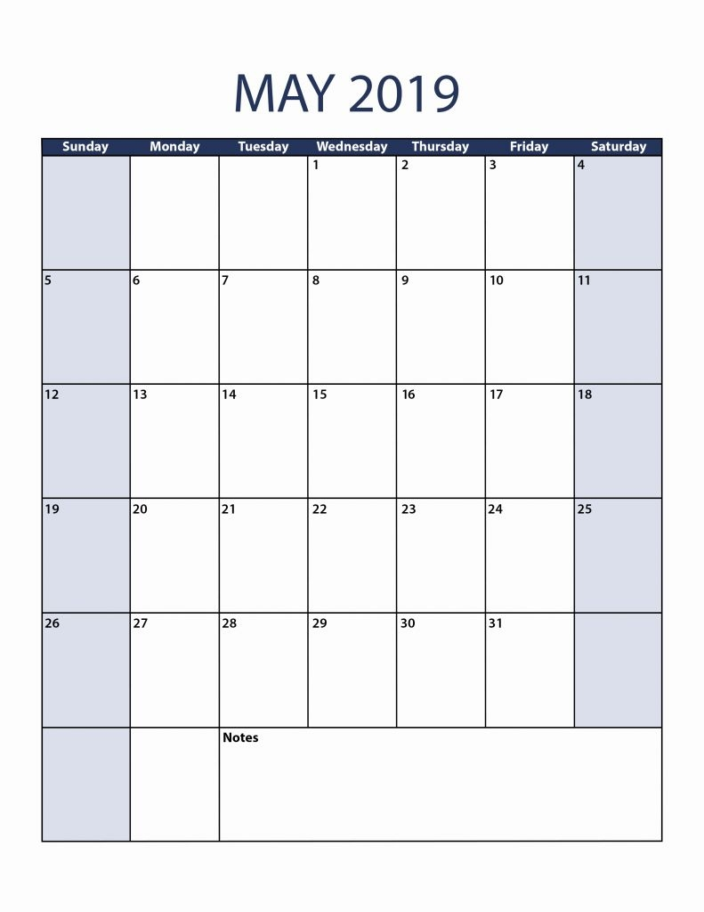 37 blank printable calendar 2019 laboole::May 2019 iPhone Calendar