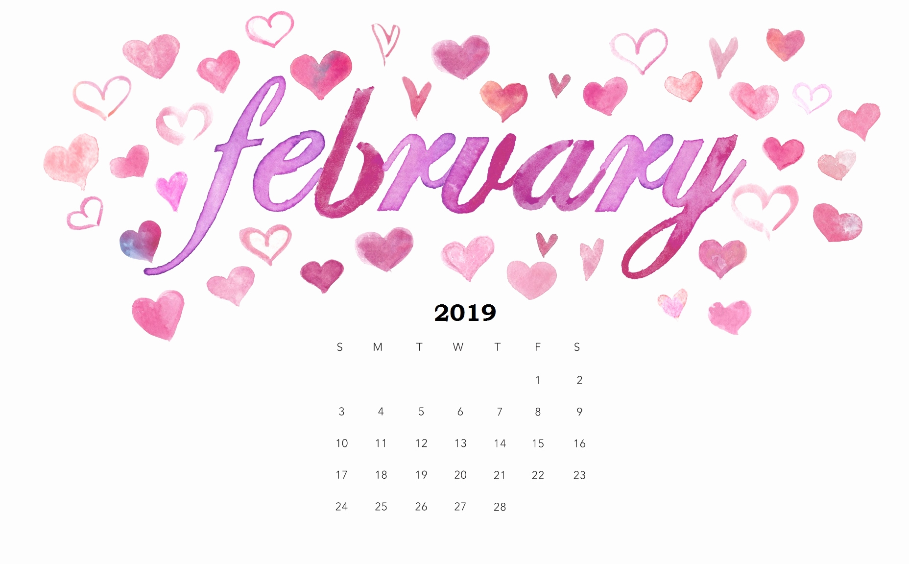 calendar february 2019 wallpaper february 2019 calendar wallpapers::February 2019 iPhone Calendar Wallpaper