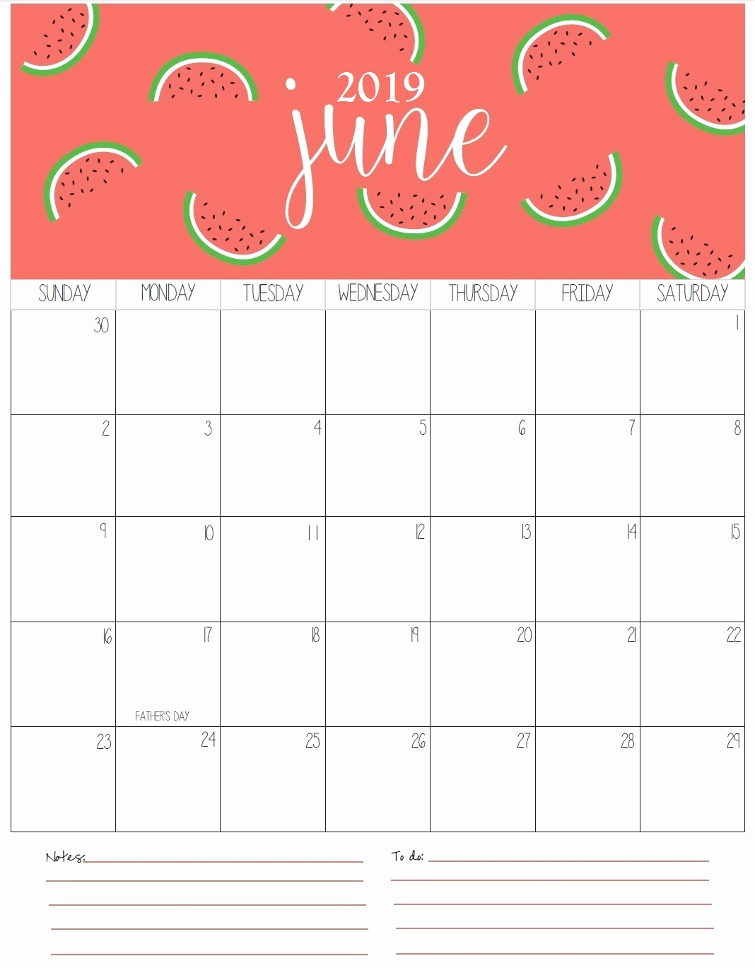 calendar june 2019 printable make a calendar::June 2019 Calendar