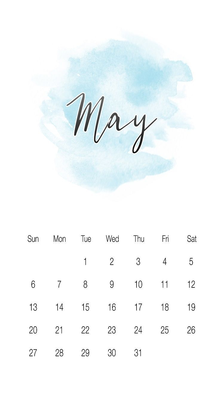 cool may 2018 iphone calendar wallpapers images and photos::May 2019 iPhone Calendar