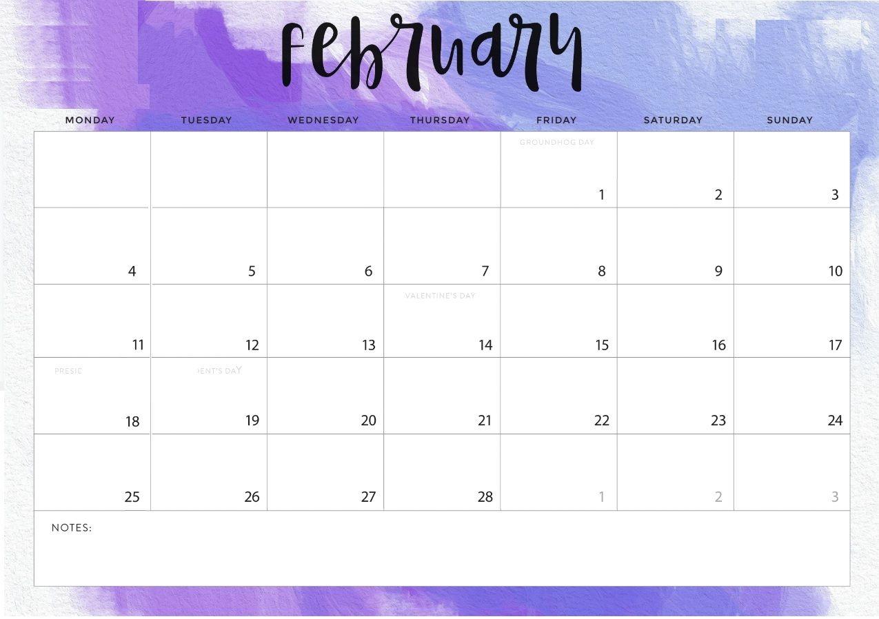 february 2019 desk calendar deskcalendar printable::February 2019 Desktop Calendar