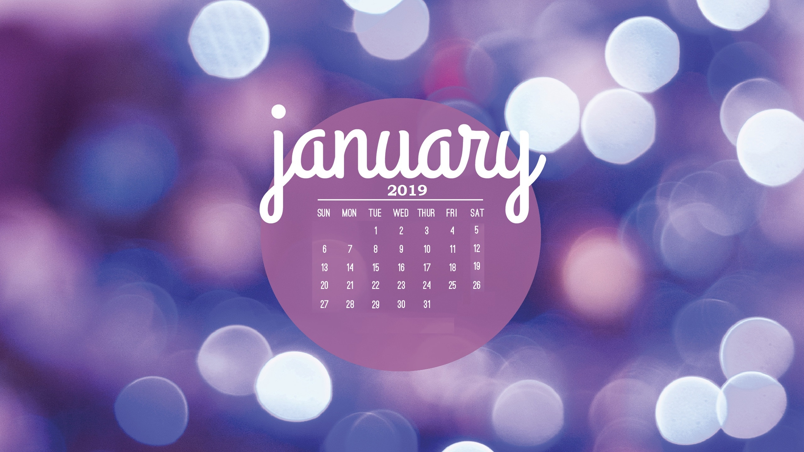 january 2019 hd calendar wallpapers calendar 2019::January 2019 Desktop Calendar Wallpaper