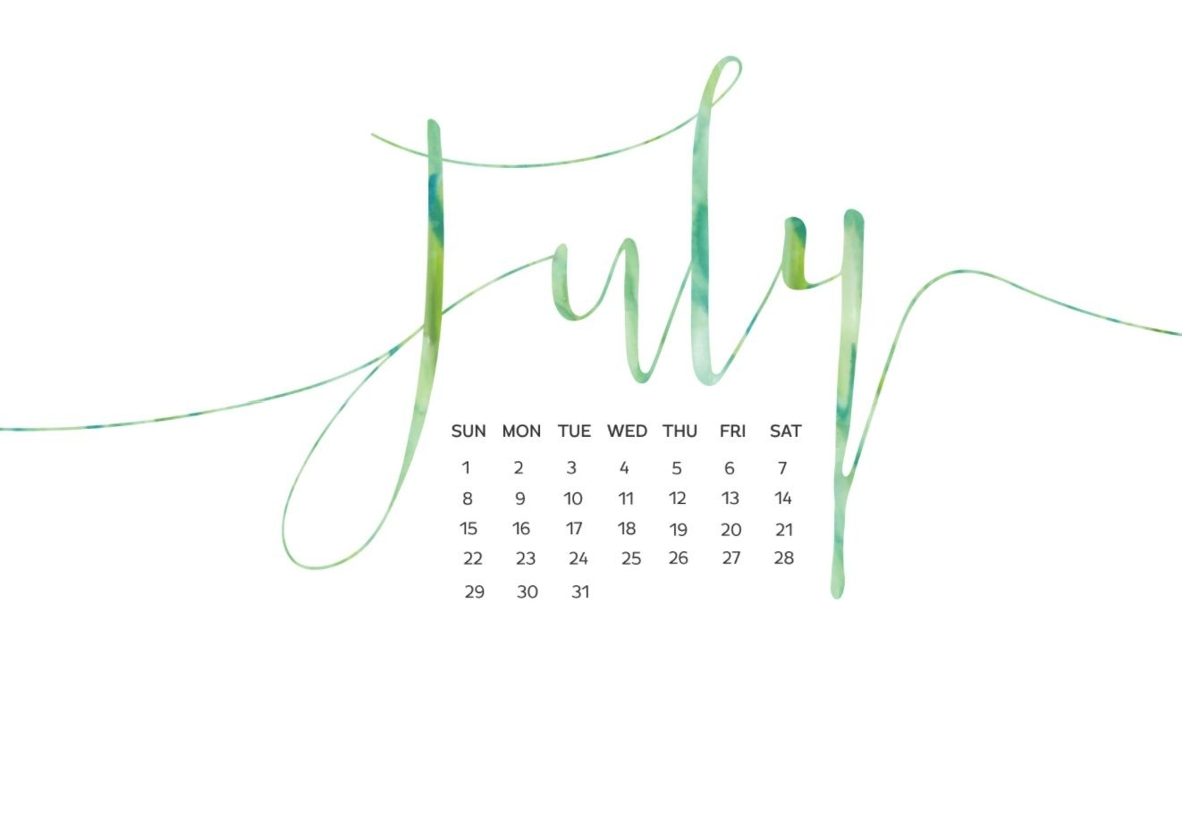july 2019 calendar wallpapers for background::July 2019 iPhone Calendar Wallpaper