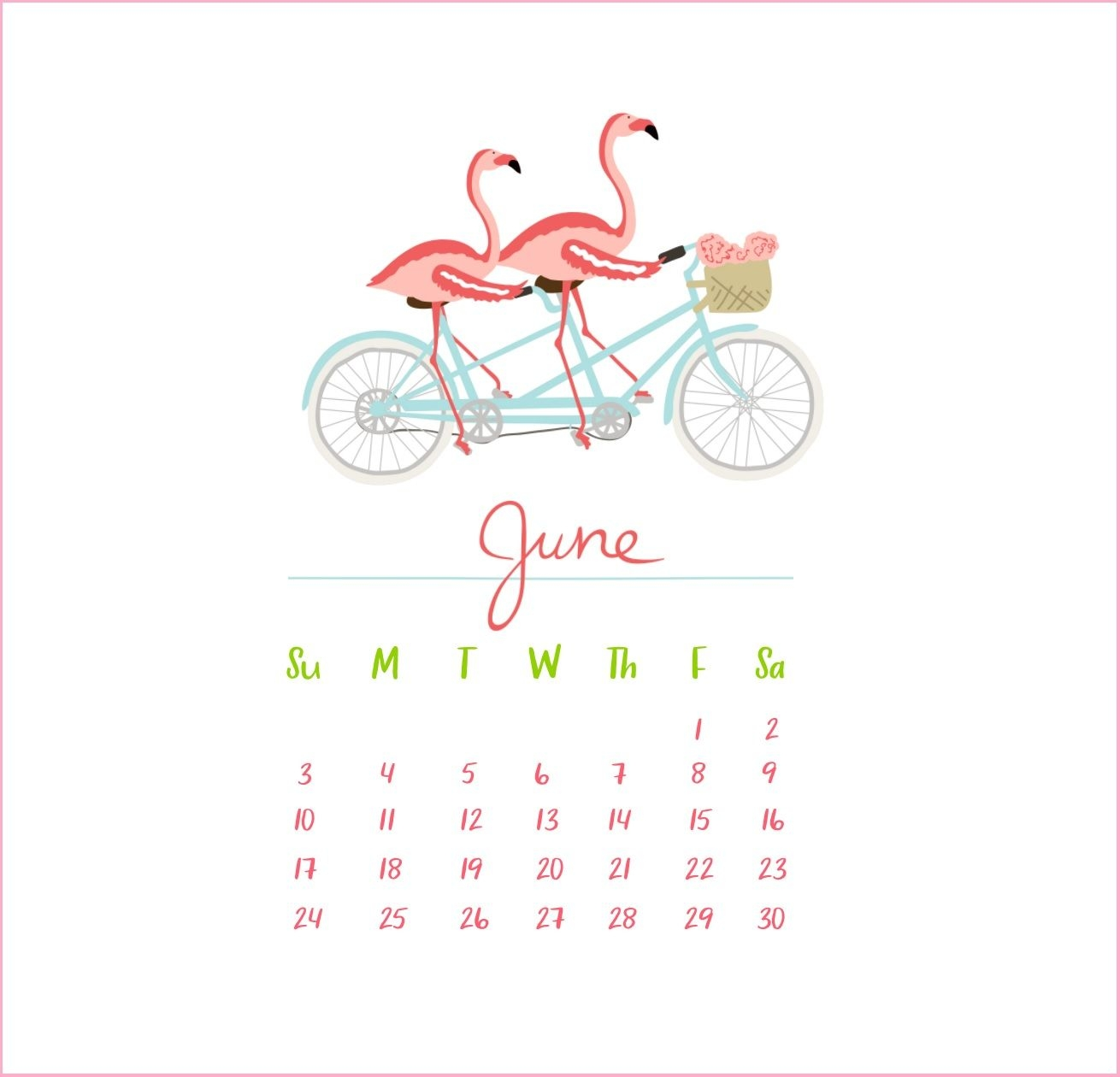 june 2019 calendar wallpapers wallpaper cave::June 2019 iPhone Calendar Wallpaper