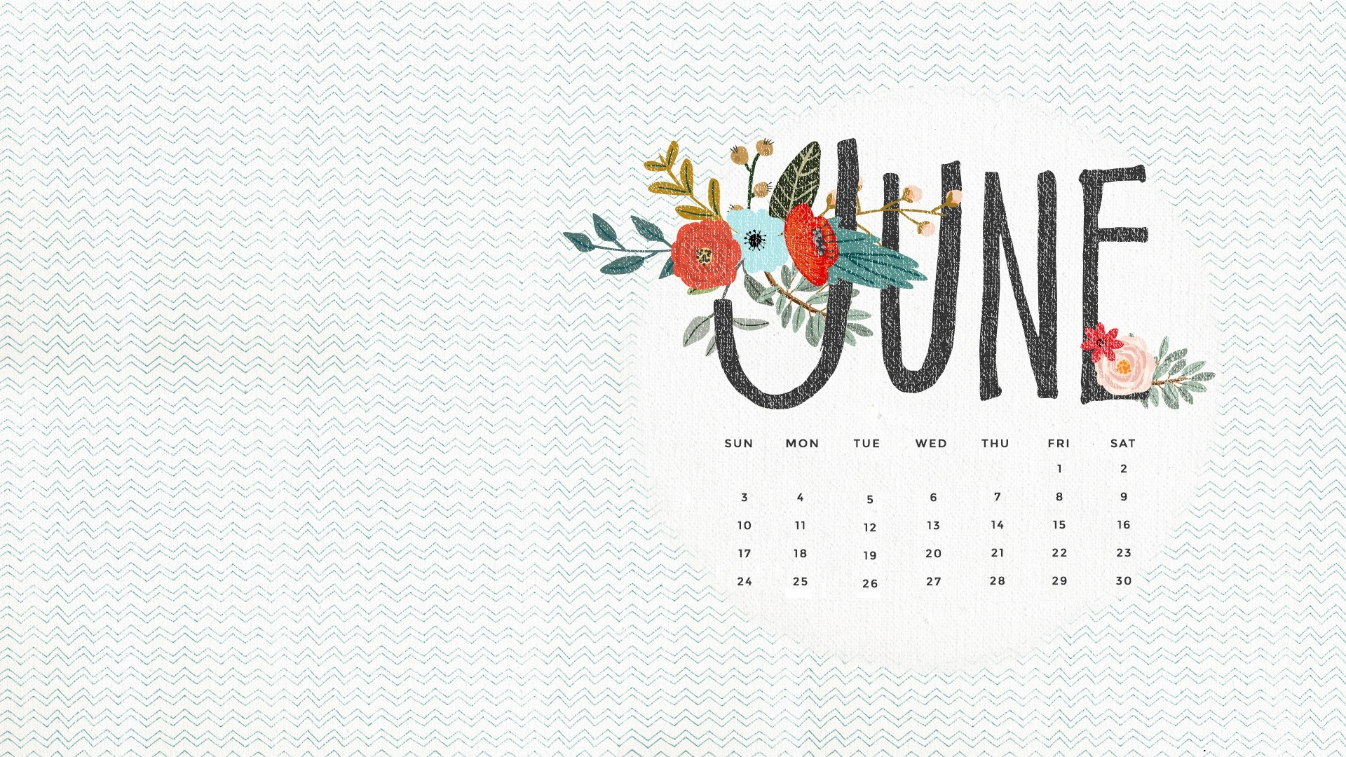 june 2019 hd wallpaper with calendar::June 2019 iPhone Calendar Wallpaper