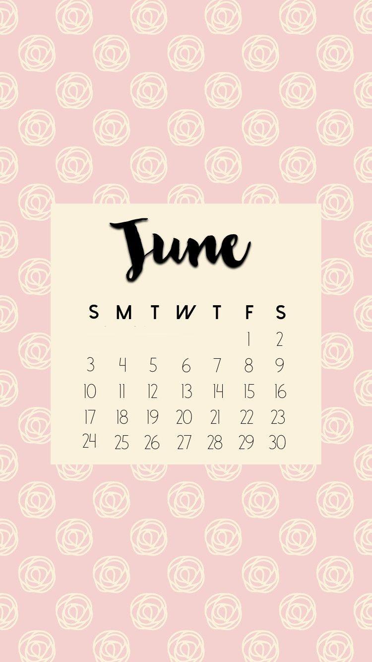 june 2019 iphone calendar hd wallpapers calendar::June 2019 iPhone Calendar Wallpaper
