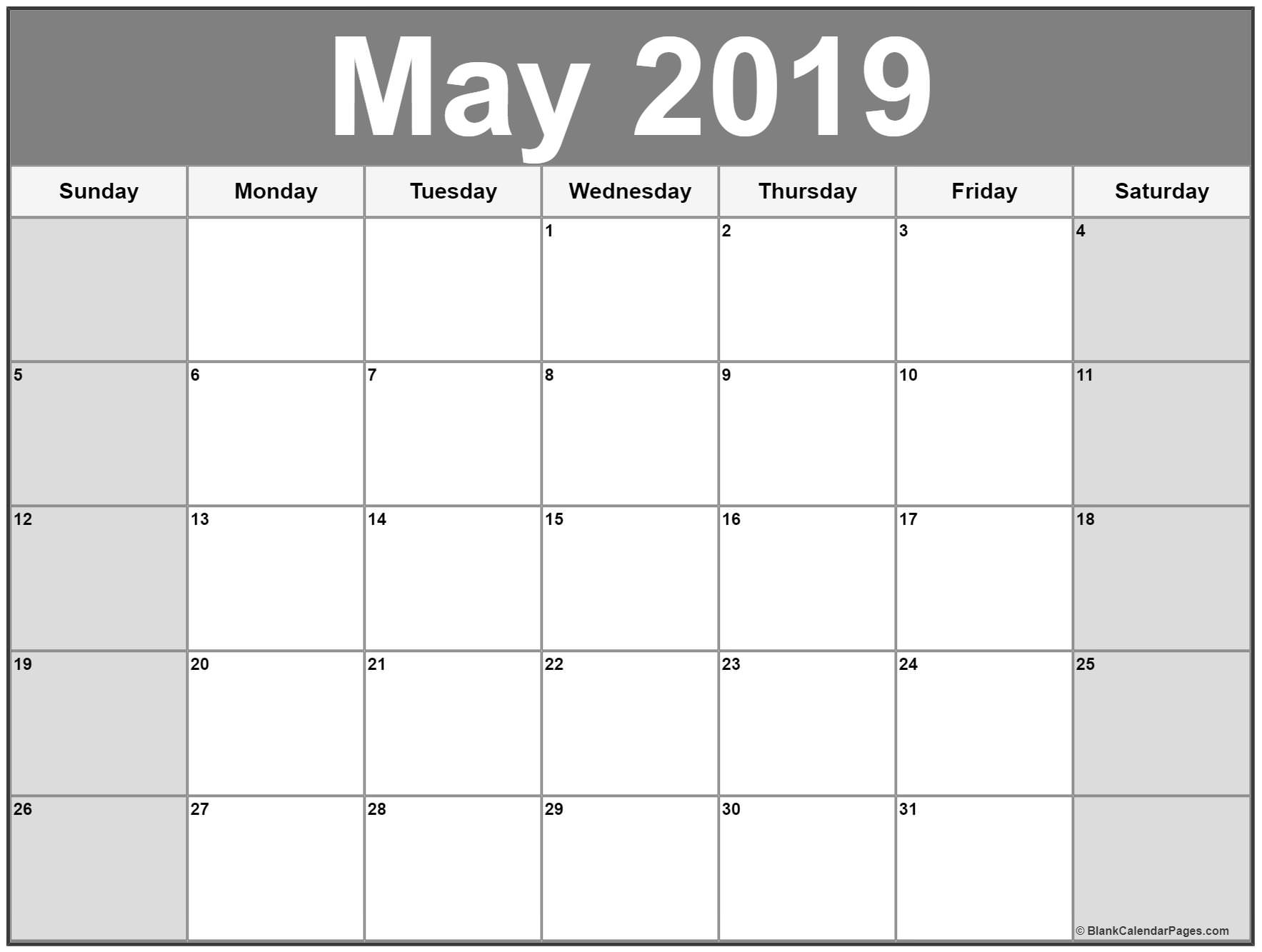 may 2019 calendar 51 calendar templates of 2019 calendars::May 2019 Calendar Example