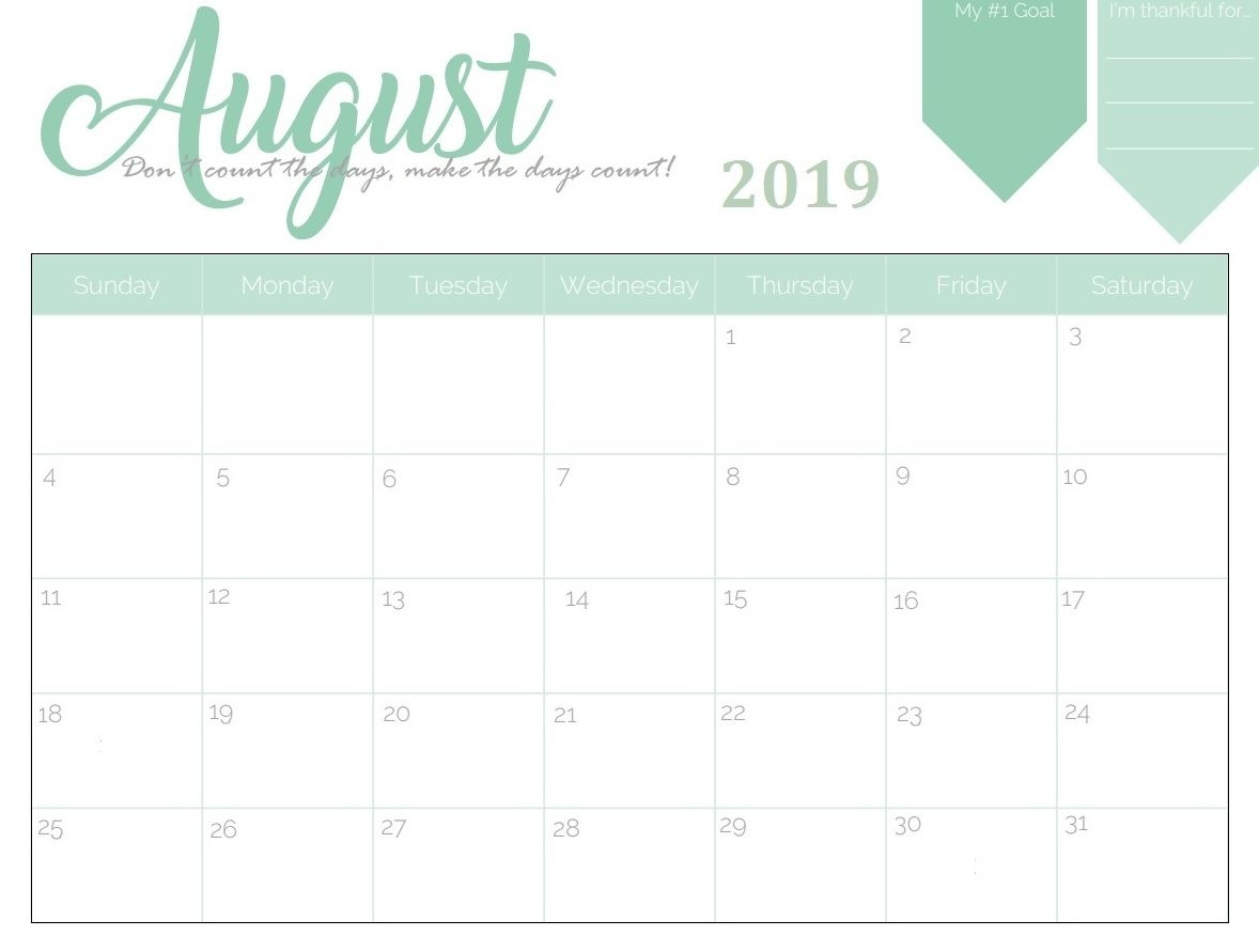 printable august 2019 calendar the calendar design for 3 years::August 2019 iPhone Calendar Wallpaper