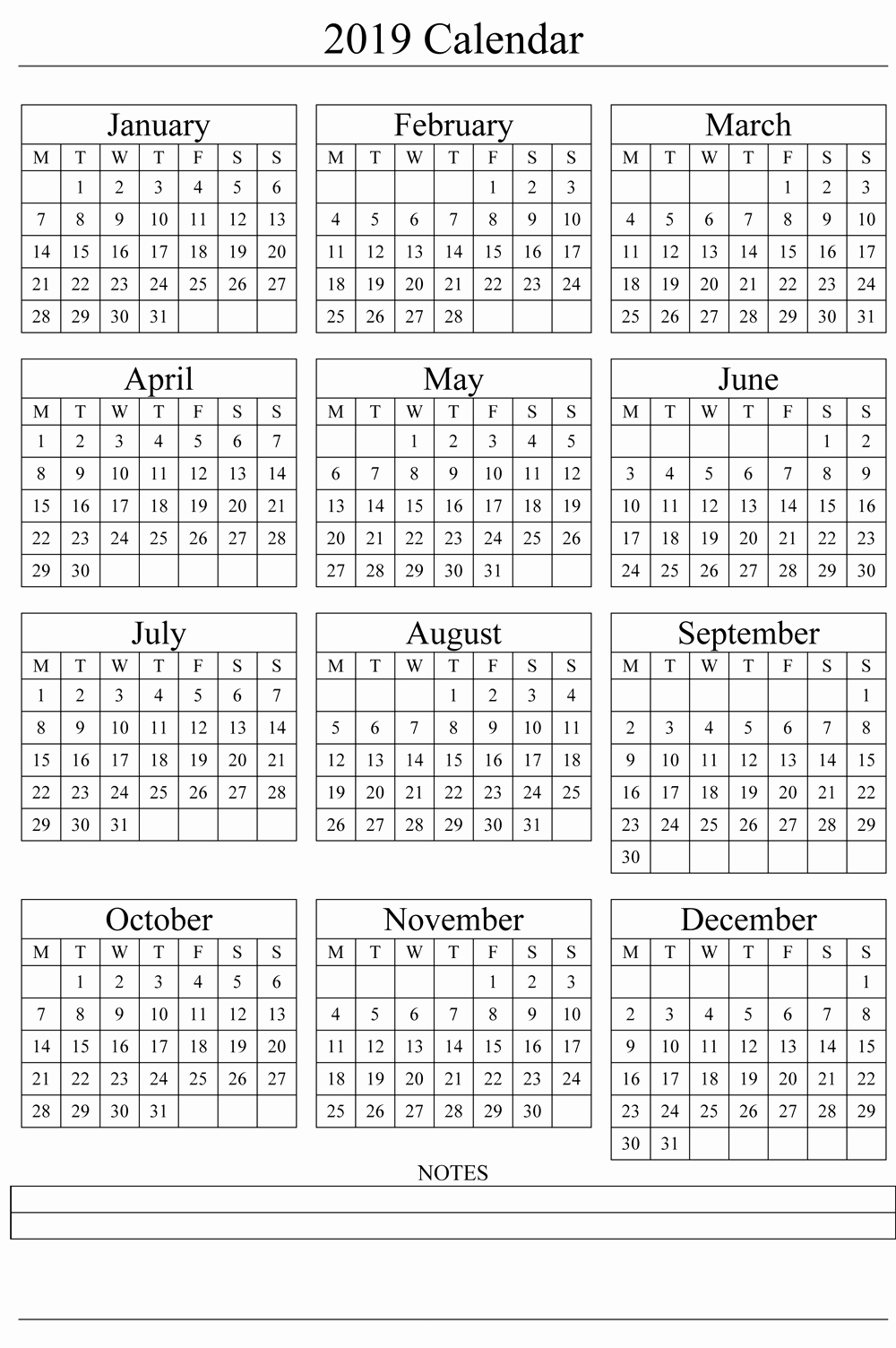 printable may calendar 2019 free printable calendar 2019 templates::Download 2019 Printable Calendar