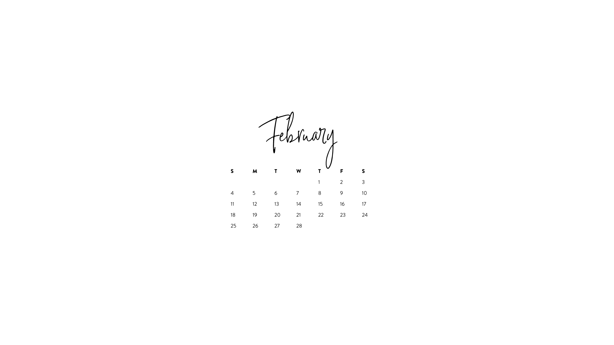 printables downloads ashlee proffitt::February 2019 iPhone Calendar Wallpaper