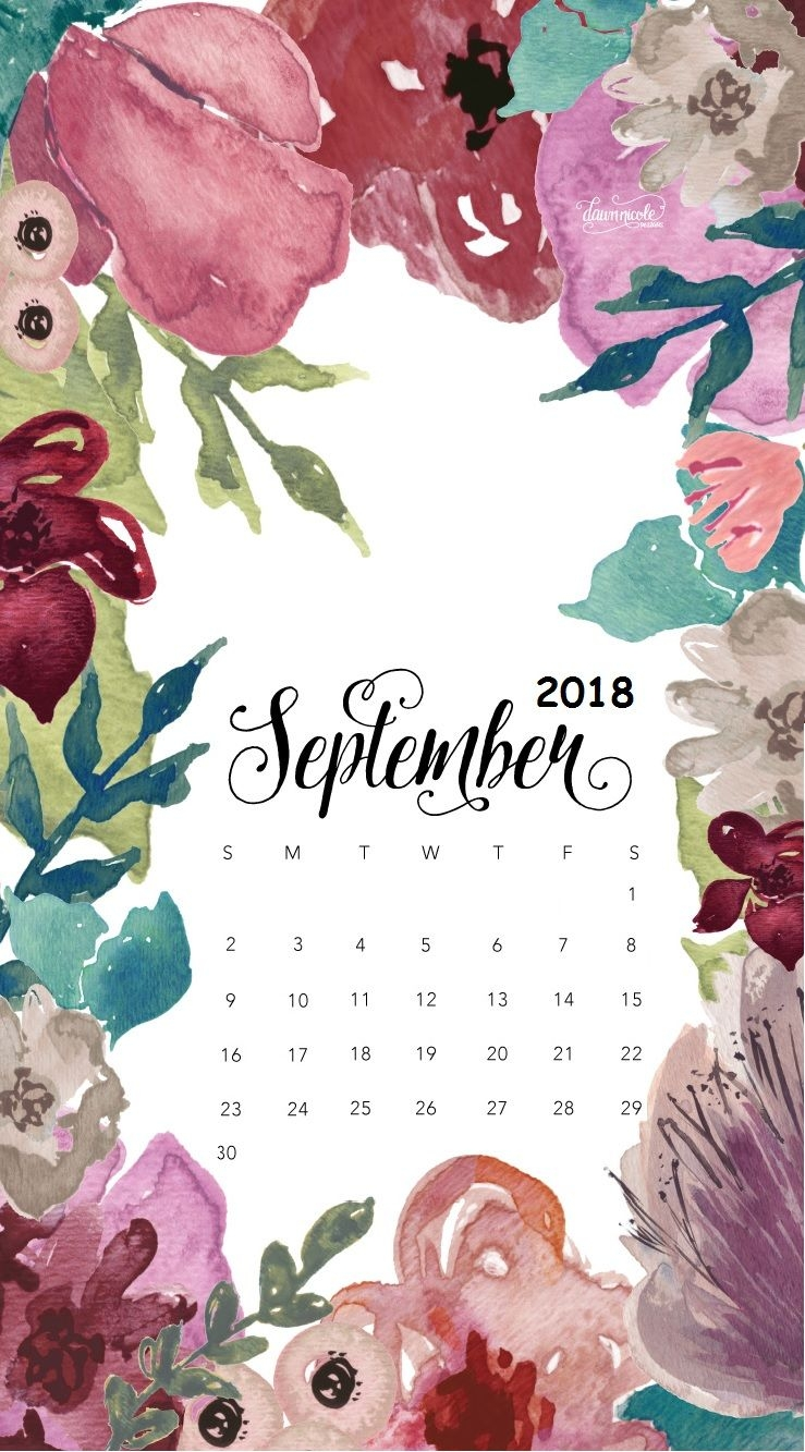 september 2018 iphone calendar wallpaper wallpapers pinterest::September 2019 iPhone Wallpaper Calendar