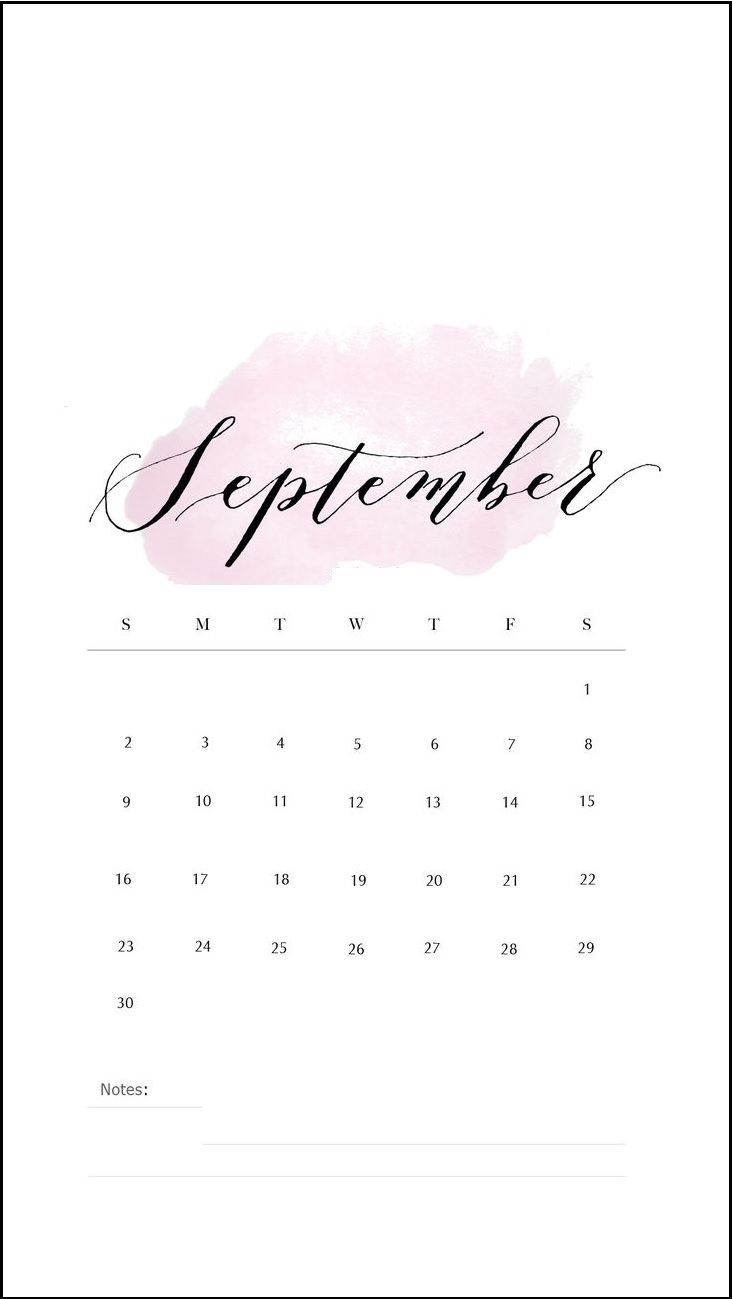 september 2018 iphone calendar wallpapers calendar 2018 in 2018::September 2019 iPhone Wallpaper Calendar