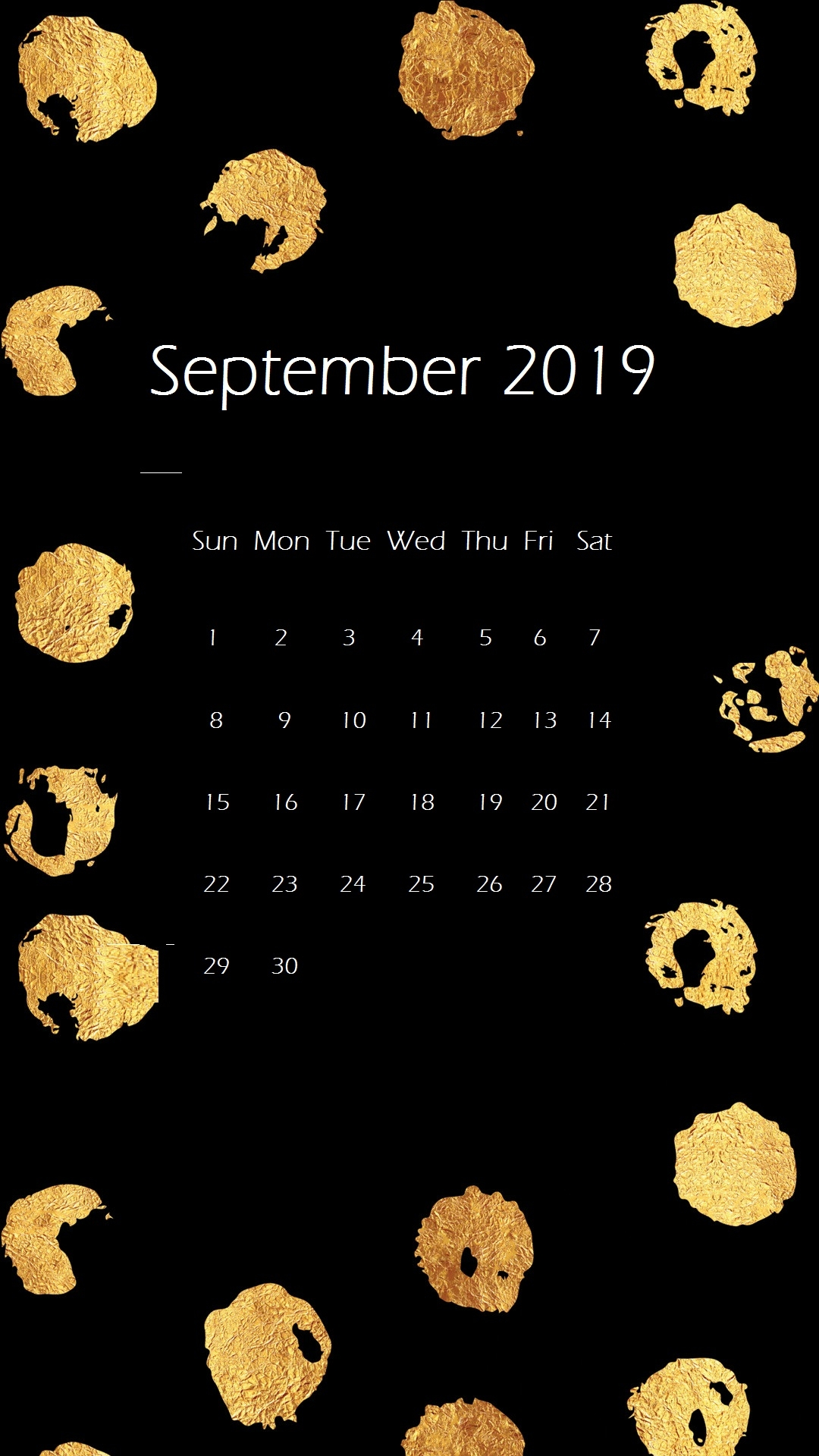 september 2019 iphone wallpaper calendar calendar 2019::September 2019 iPhone Wallpaper Calendar