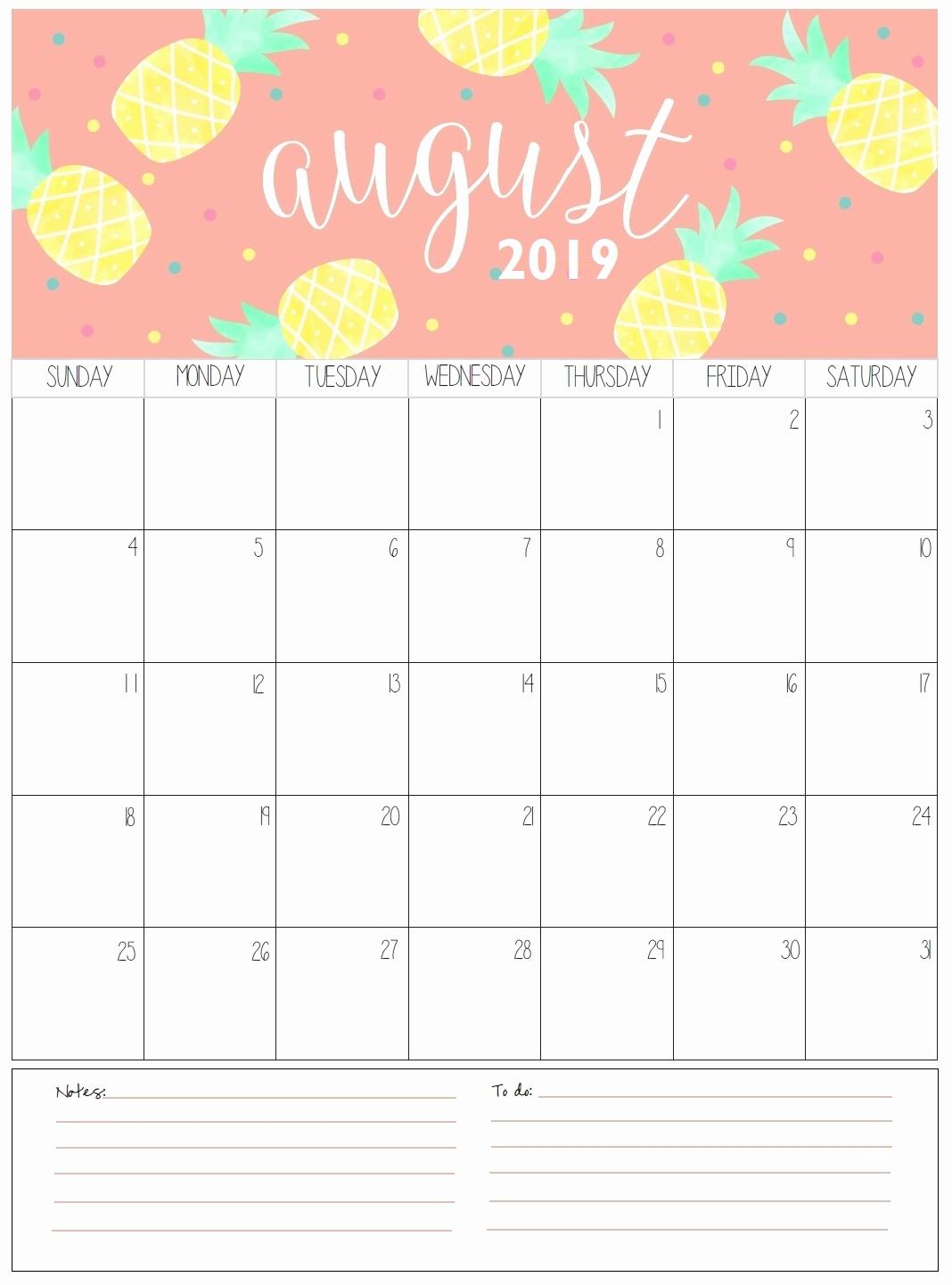 get free august 2019 calendar template blank calendar 2019::Blank Calendar 2019 Template