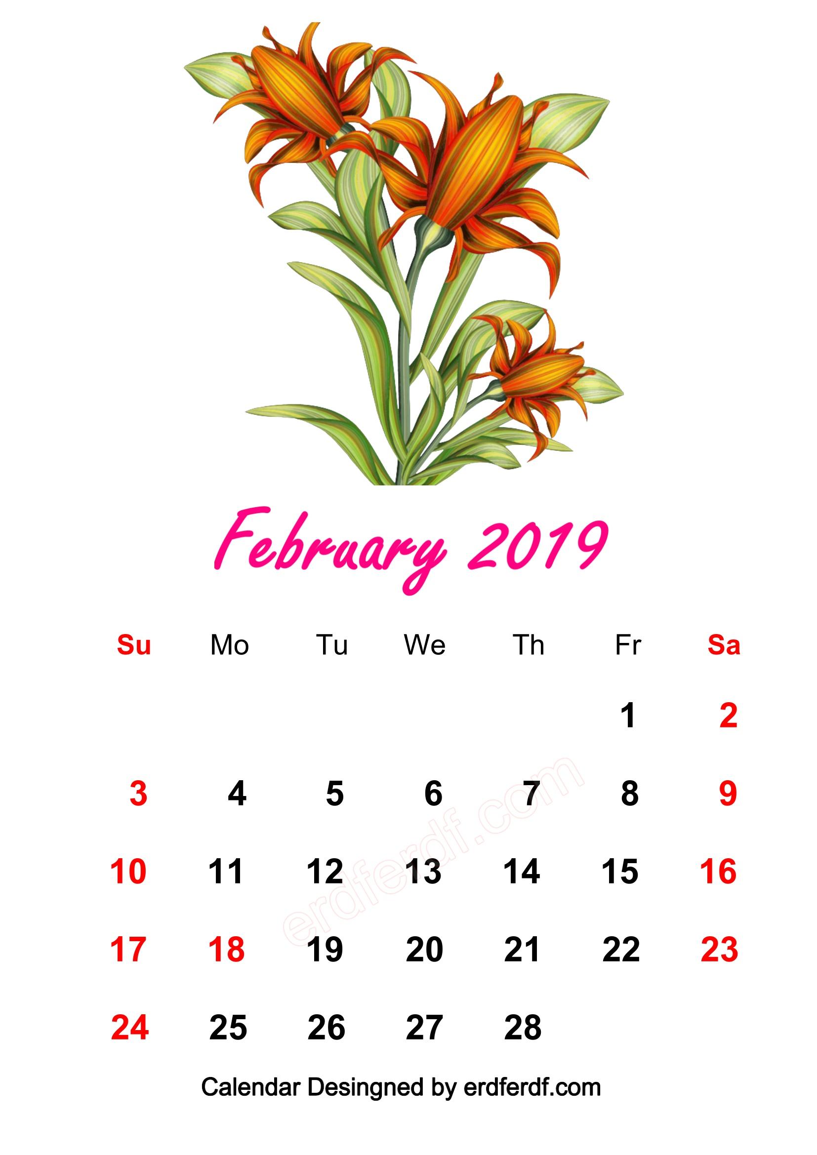 5 February 2019 HD Calendar Wallpapers