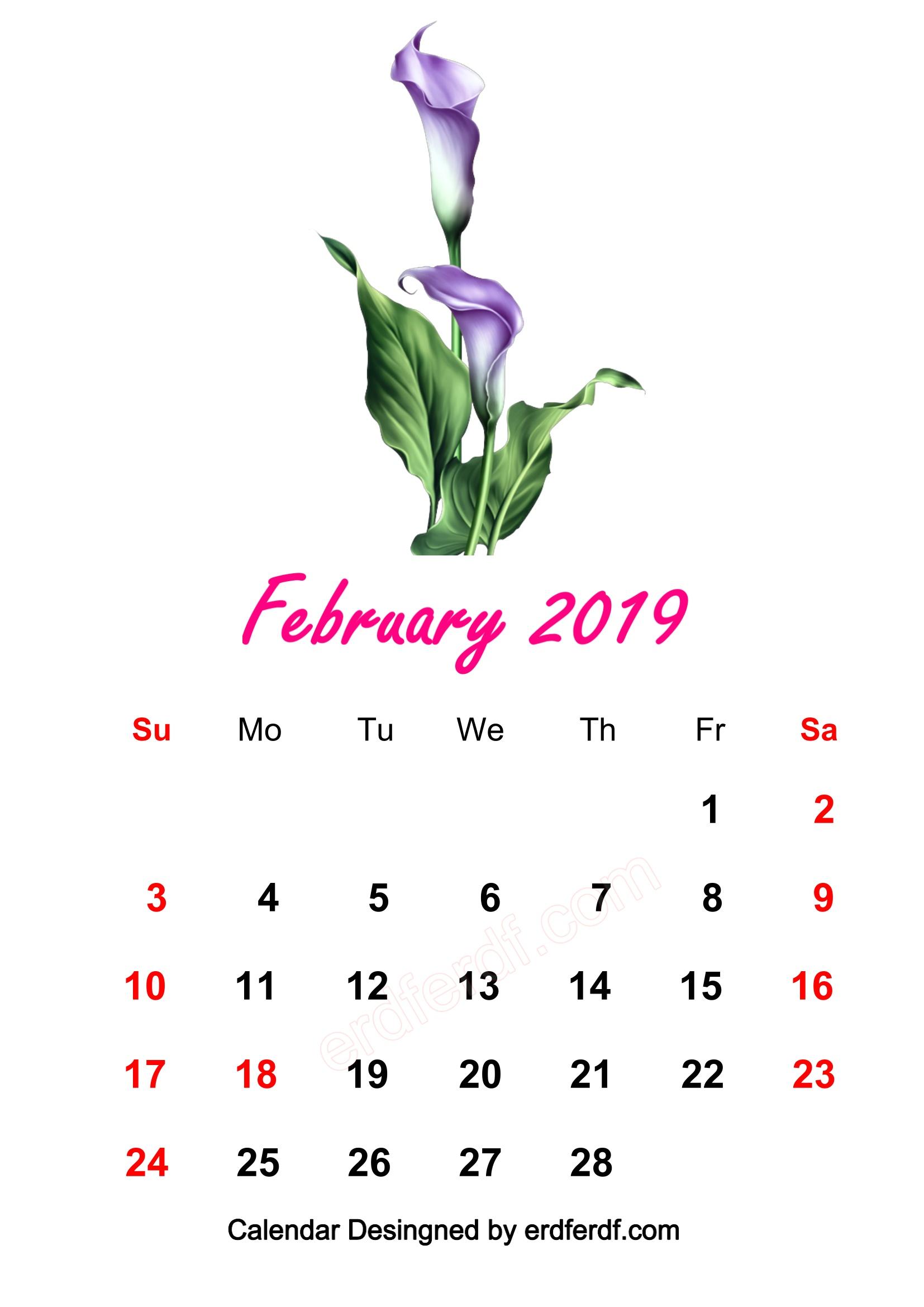 6 February 2019 HD Calendar Wallpapers