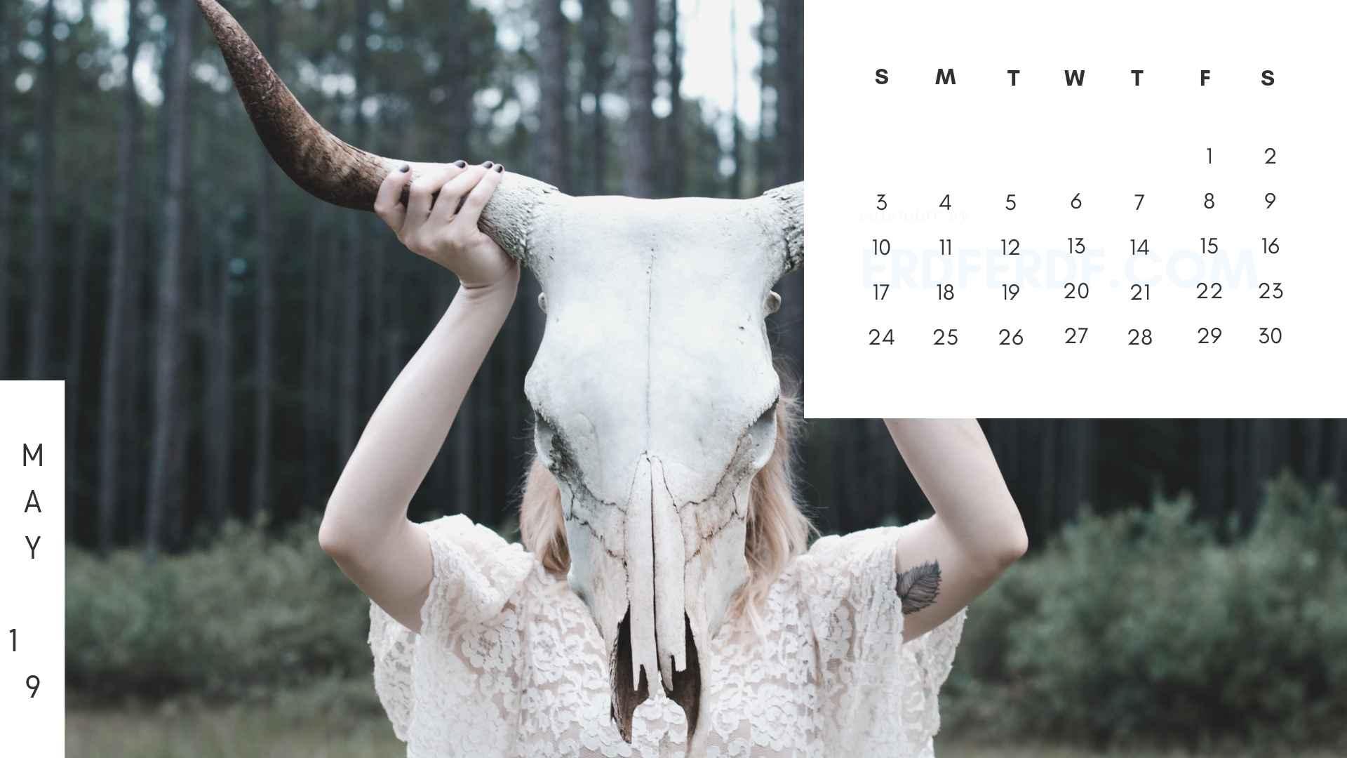 Printable May 2019 Calendar Printable 3