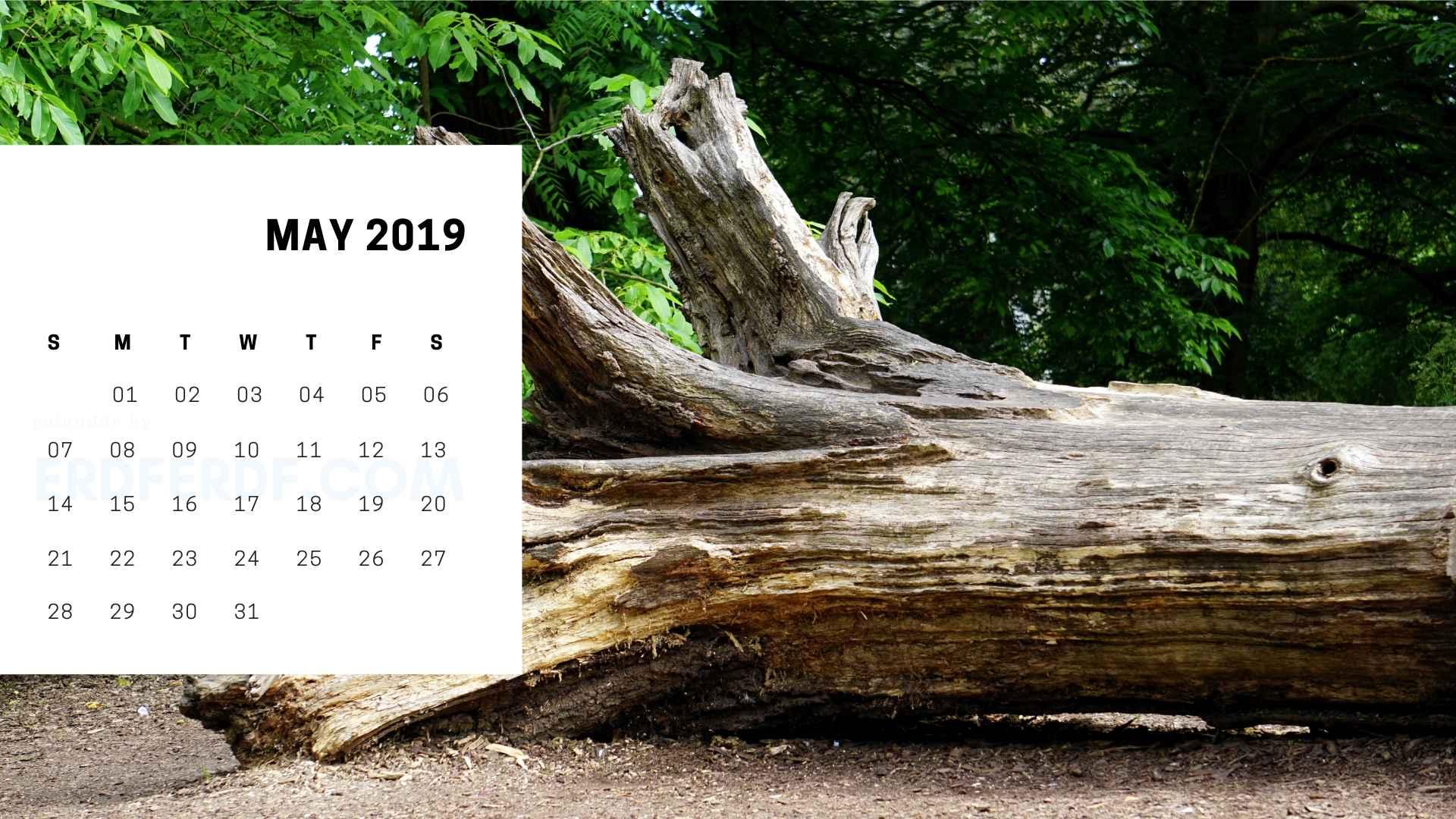 Printable May 2019 Calendar Printable 4
