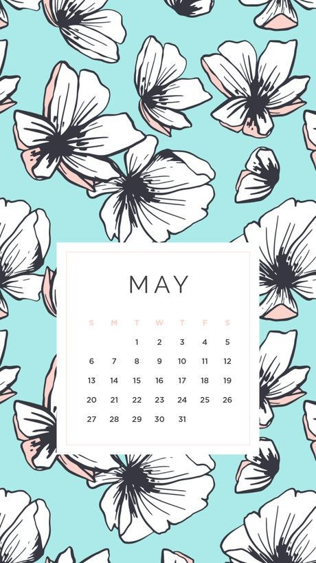 10 May Iphone Calendar Wallpaper Cute Free 2