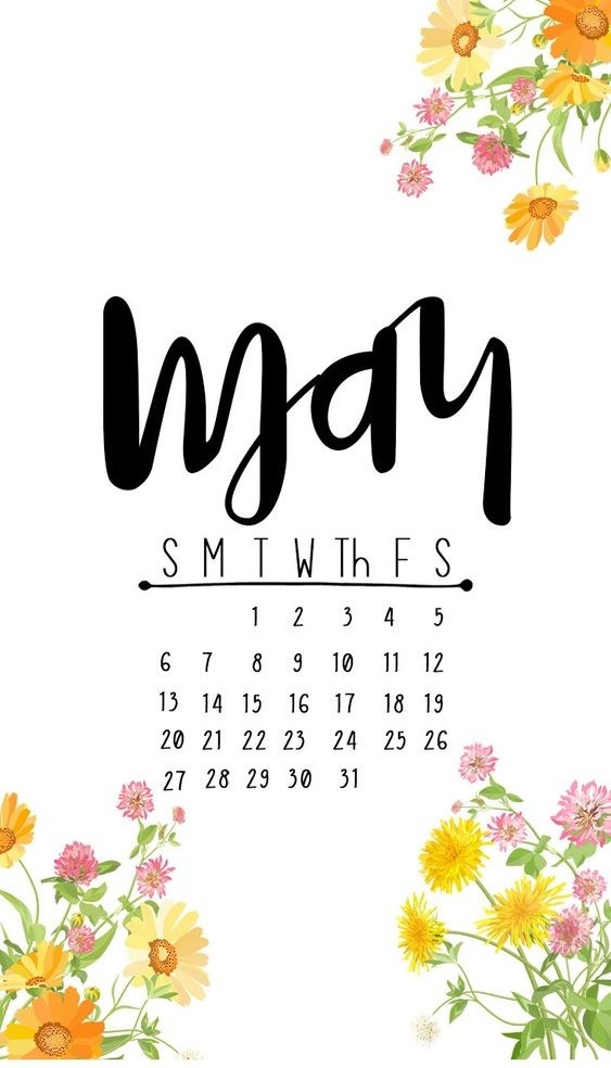 10 May Iphone Calendar Wallpaper Cute Free 5