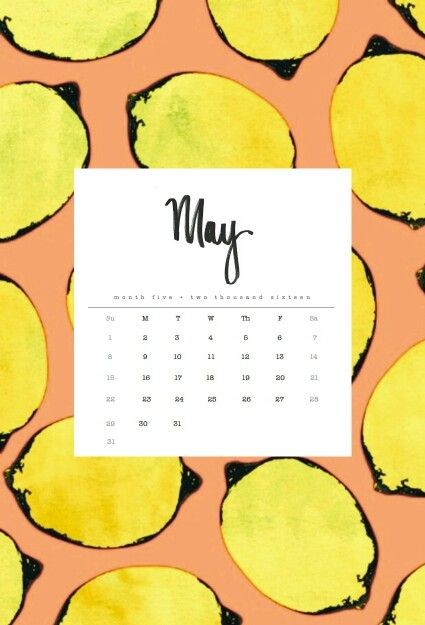 10 May Iphone Calendar Wallpaper Cute Free 6
