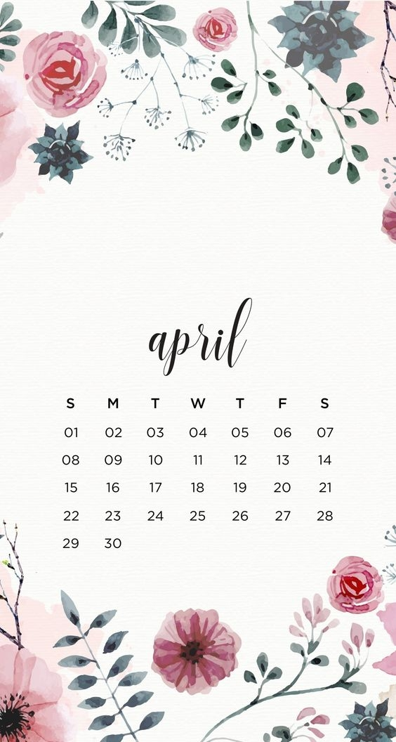 April Iphone Calendar Wallpaper in HD Quality 3