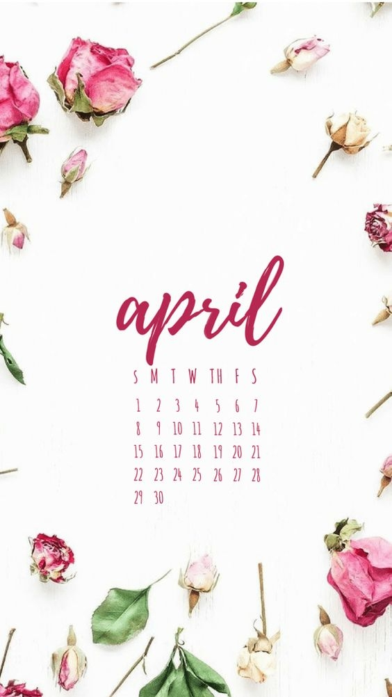 April Iphone Calendar Wallpaper in HD Quality 4