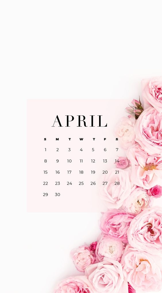 April Iphone Calendar Wallpaper in HD Quality 7
