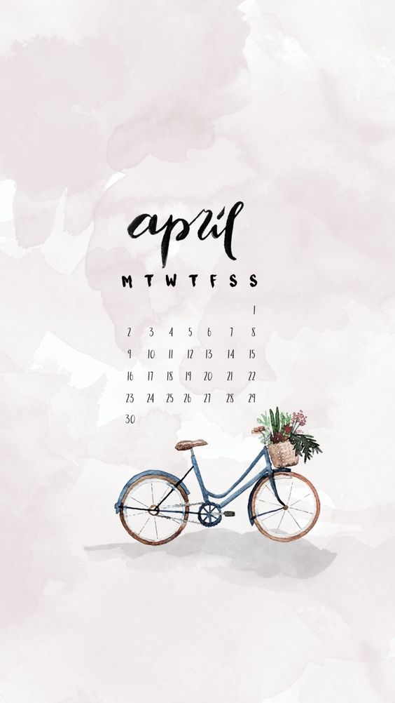 April Iphone Calendar Wallpaper in HD Quality 8