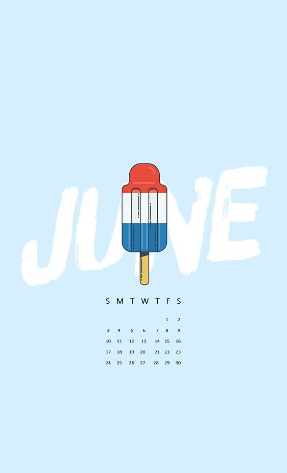 Cute June Iphone Calendar Wallpaper nice