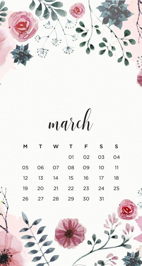 March Iphone Calendar Wallpaper in HD Quality 2