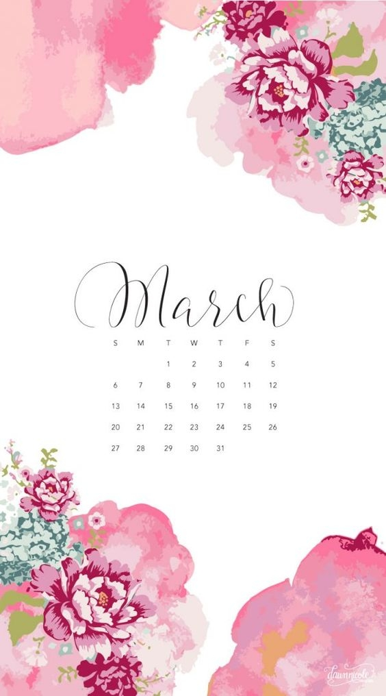 March Iphone Calendar Wallpaper in HD Quality 4
