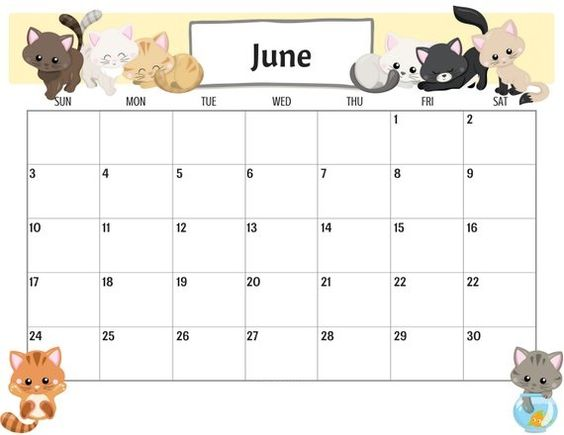 June 2020 Calendar Example Free Wallpaper Ideas