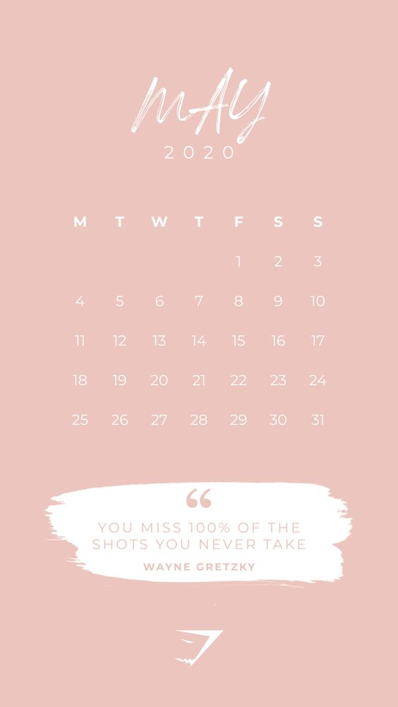 May 2020 Calendar Ideas Example Plan Time