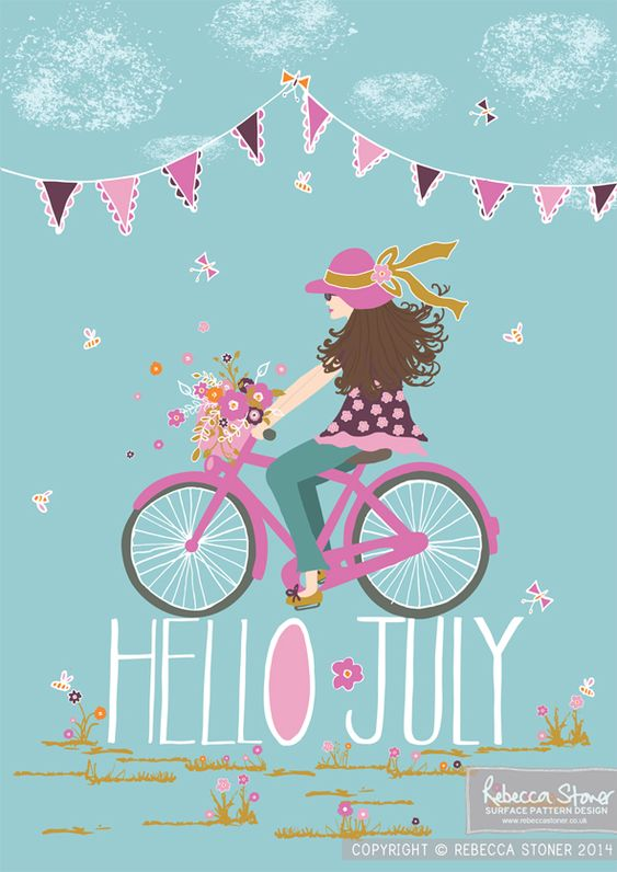 Hello July Wallpaper Iphone