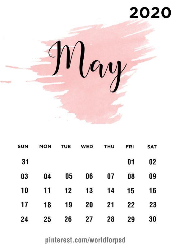 May 2020 Calendar Wallpaper Iphone Ideas