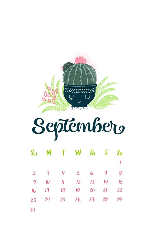 September 2020 Calendar Wallpaper Iphone Cute