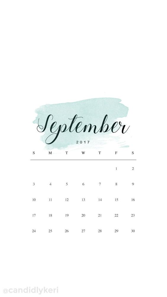 September 2020 Calendar Wallpaper Iphone Free Ideas