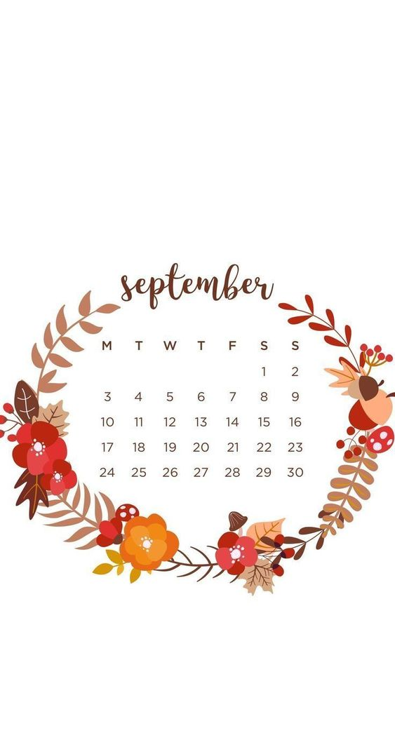 September 2020 Calendar Wallpaper Iphone Teenager