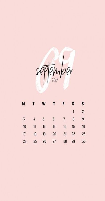 September 2020 Calendar Wallpaper Iphone Trendy Wall