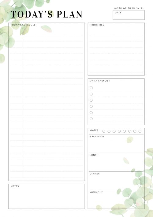Calendar Ideas Planner Free Printables Todays