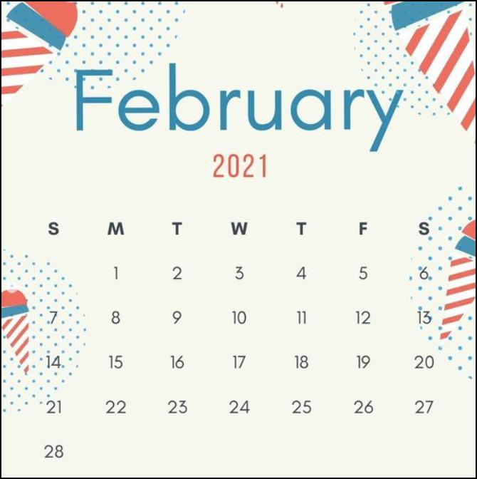 February 2021 Inspiration Design