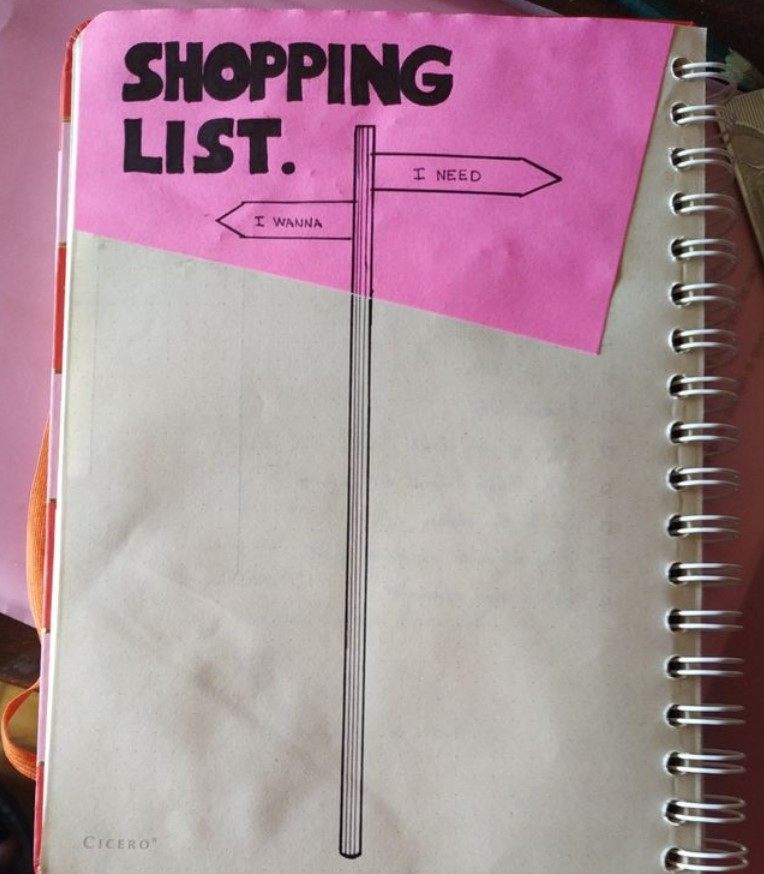 Bullet Journal Shoping List You Need