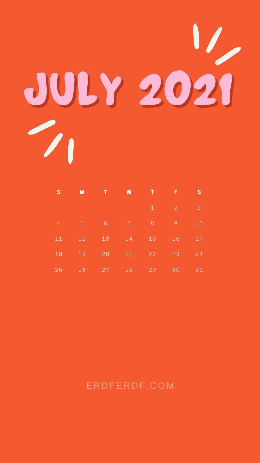 2 July 2021 Callendar Wallpaper Iphone