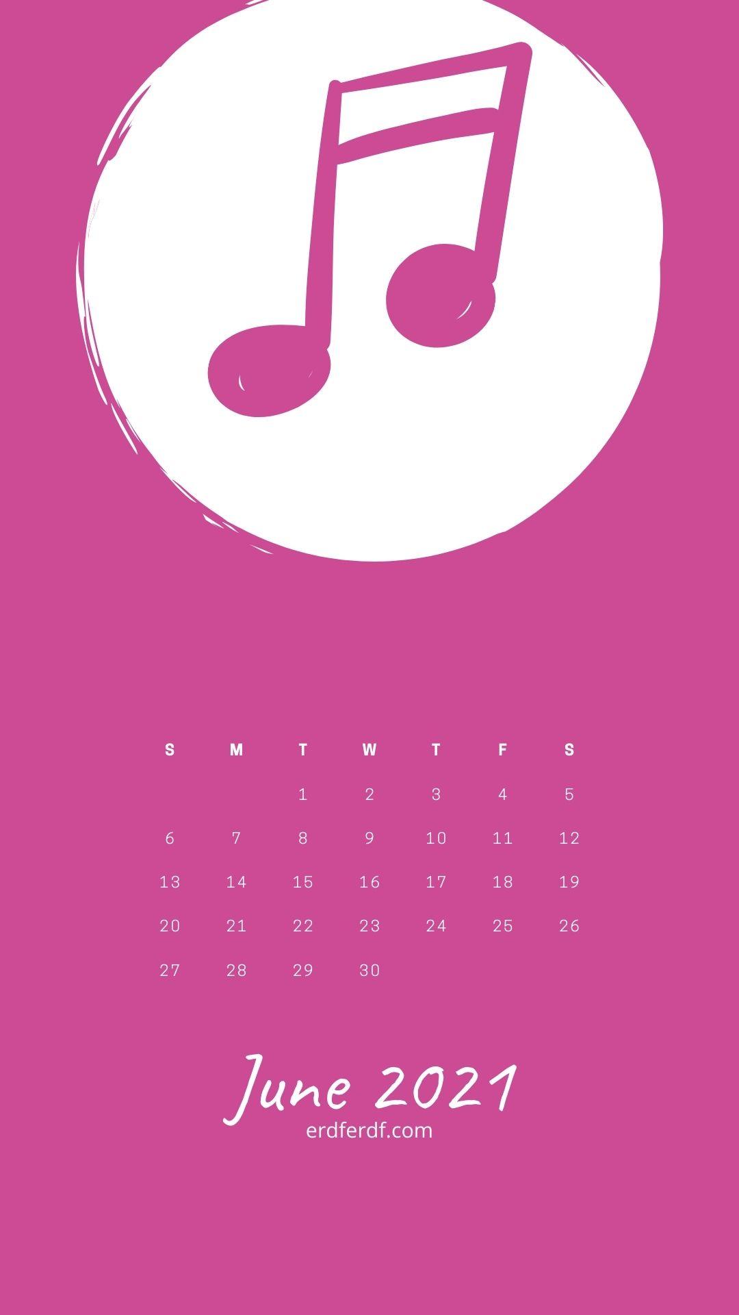 4 June 2021 Callendar Wallpaper Iphone