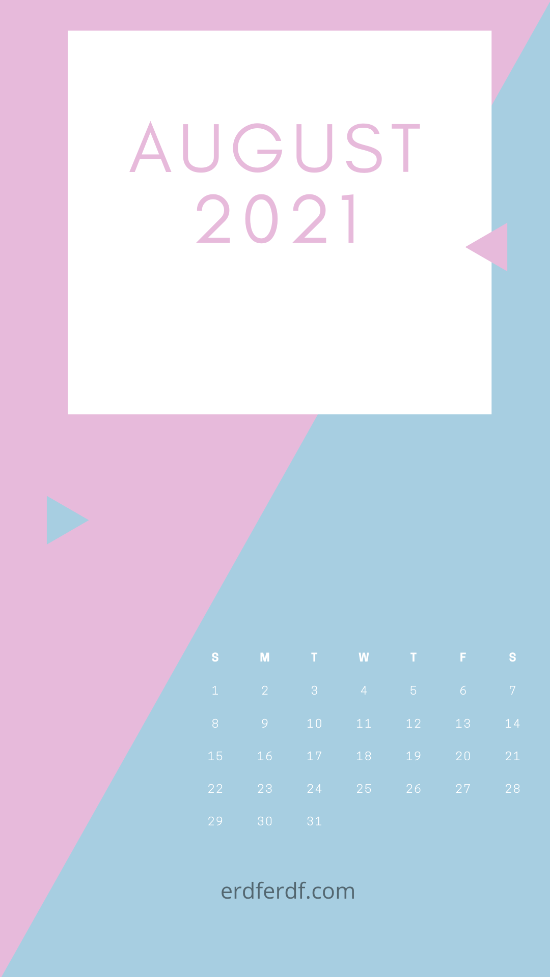 August 2021 Callendar Wallpaper Iphone Purple Free