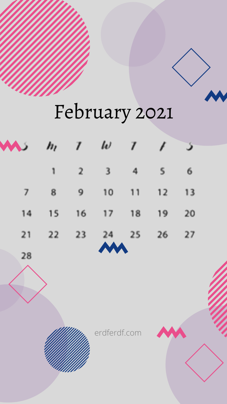 February 2021 Iphone Wallpaper