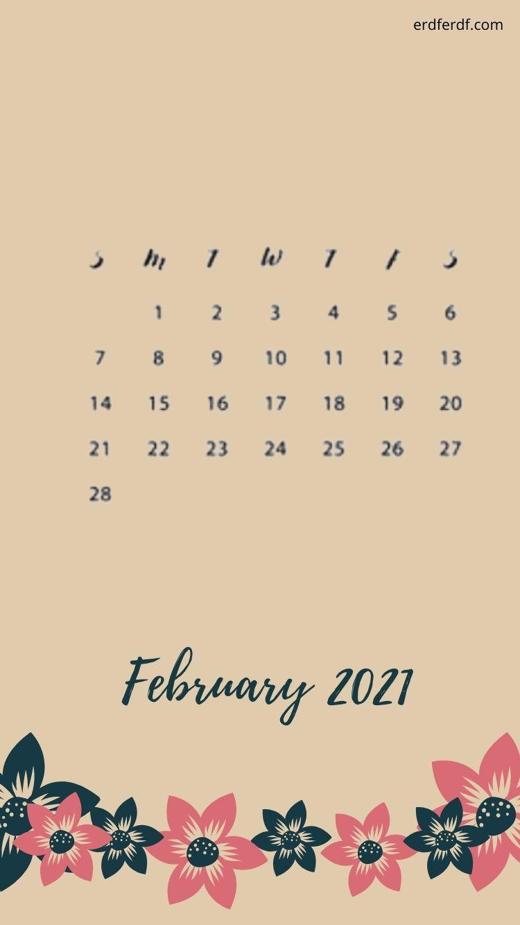 February 2021 Iphone Calendar Free