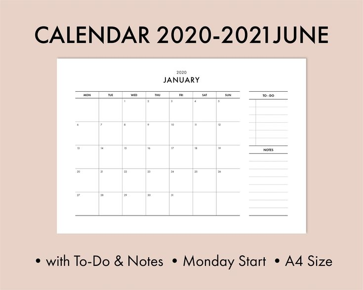 printable calendar pdf 2021 june a4 size with to do list and notes::june 2021 with note