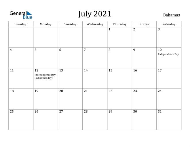 Canada calendar::July 2021 Calendar With Holiday